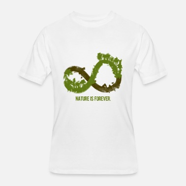 Infinity Young nature is forever infinity tree - Men's 50/50 T-Shirt