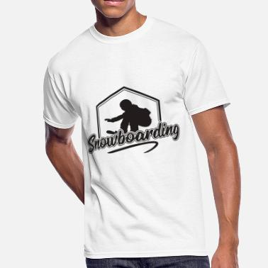 Snowboard Vacation Snowboarding winter sports gift vacation snowboard - Men's 50/50 T-Shirt