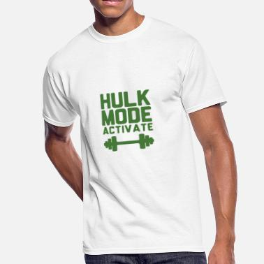 Hulk Quotes Hulk Mode Activate - Exclusive - Limited Edition!! - Men's 50/50 T-Shirt