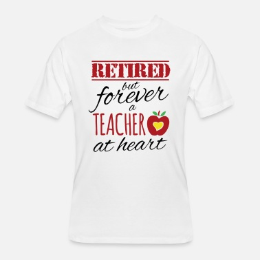 Retired Teachers Retired Teacher - Men's 50/50 T-Shirt