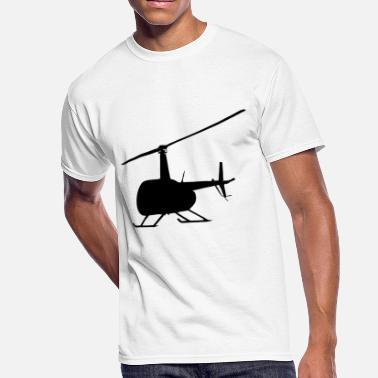 Chopper Pilot Gift Helicopter Heli Chopper Aircraft Gift Idea - Men's 50/50 T-