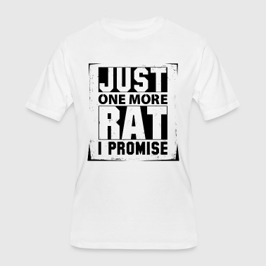Rat Bike Just One More Rat I Promise - Men's 50/50 T-Shirt