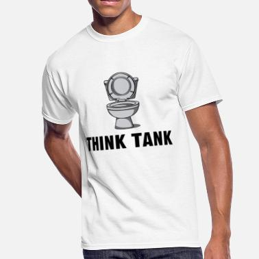 Think Tank Think Tank - Men's 50/50 T-Shirt