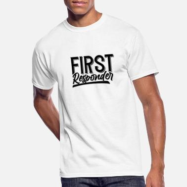 First Responders First responder First Responders Emergency Helper - Men's 50/50 T-Shirt