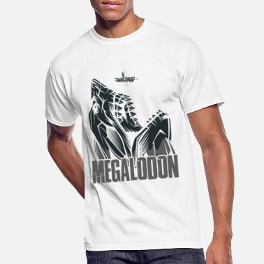 Sealife Cool Megalodon Shark Sealife Creatures Wild Animal - Men's 50/50 T-Shirt