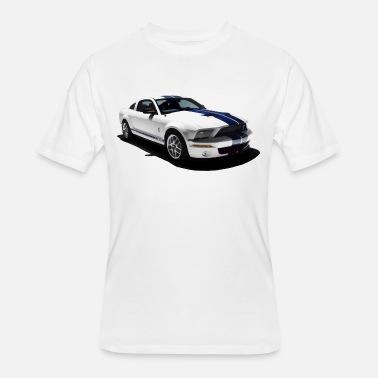 Shelby Cobra Logo Polo Shirt Ford Mustang GT 500 350 Mens White Cotton Shirts