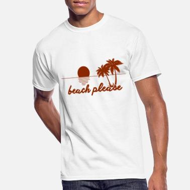 Grossier Beach pleaseBeach please - Men's 50/50 T-Shirt