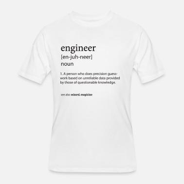 Engineer Definition Men's 5050 T Shirt Spreadshirt  Spreadshirt