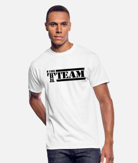 Travel T-Shirts - Timeless - The Time Team - Men's 50/50 T-Shirt white