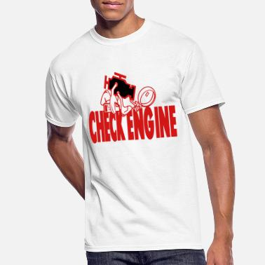 The Check Engine - Men's 50/50 T-Shirt