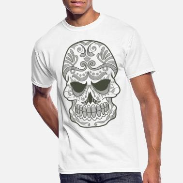 Sugar skull - Men's 50/50 T-Shirt