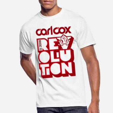 Carl Carl Cox Music is Revolution - Men's 50/50 T-Shirt
