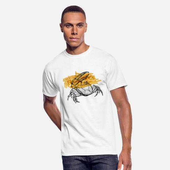 Deep T-Shirts - Fiddler crab - Men's 50/50 T-Shirt white