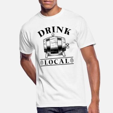 Irish Bar Drink Local - Men's 50/50 T-Shirt