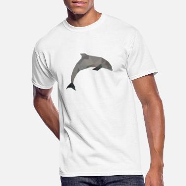 Dolphin Animal Design Drawing Women/'s T Shirt