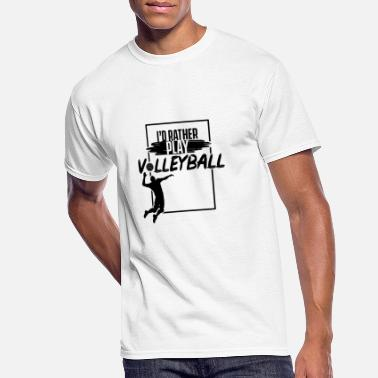 Volleyballer Volleyball Volleyball Volleyball Volleyball - Men's 50/50 T-Shirt