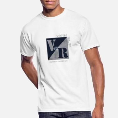Virtual Welcome to the new age Virtual Reality - Men's 50/50 T-Shirt