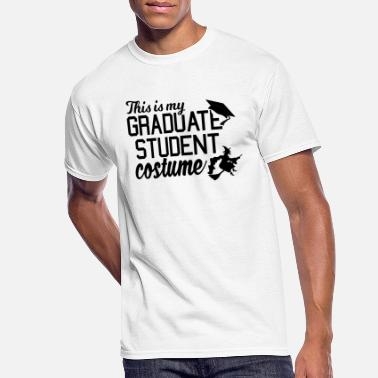 Grad Student This is My October Grad Student Costume - Men's 50/50 T-Shirt