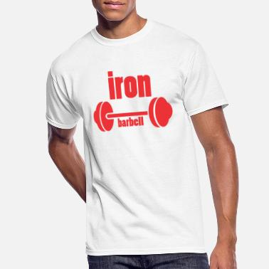 Iron-for-ironing iron barbell - Men's 50/50 T-Shirt