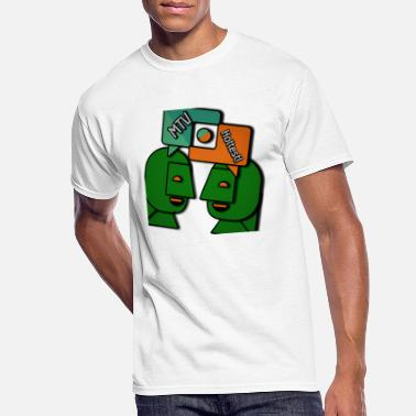Prettygirl MTV hottest - Men's 50/50 T-Shirt