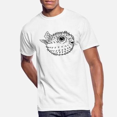 Puffer Fish Puffer fish - Men's 50/50 T-Shirt