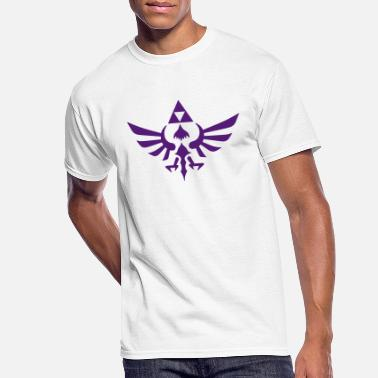 Triforce Crest - Men's 50/50 T-Shirt