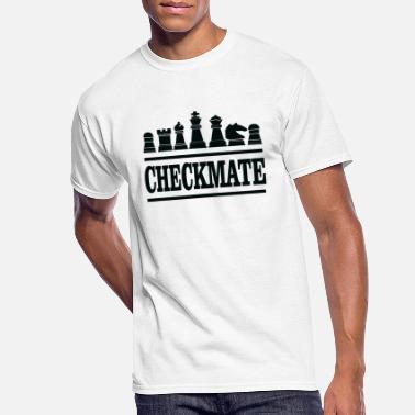 CHESS 2 Grand Maître Logo Hommes T Shirt Cadeau Jeu de plateau Check Mate