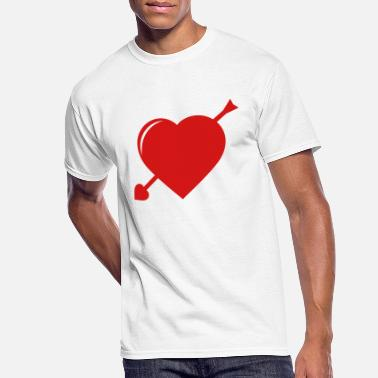 Love Struck Love Struck - Men's 50/50 T-Shirt