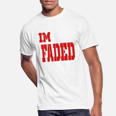 Im Faded im faded - Men's 50/50 T-Shirt