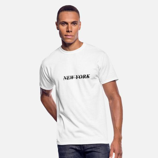 York T-Shirts - New York - Men's 50/50 T-Shirt white