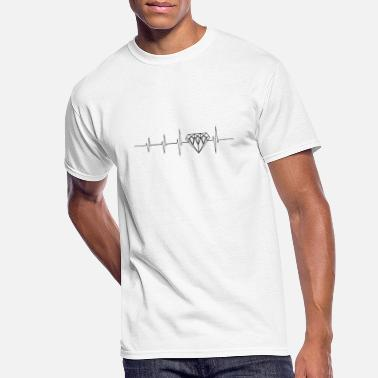 Luxury Heartbeat for luxury - Men's 50/50 T-Shirt