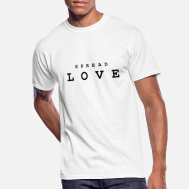 Spread Love Spread LOVE - Men's 50/50 T-Shirt