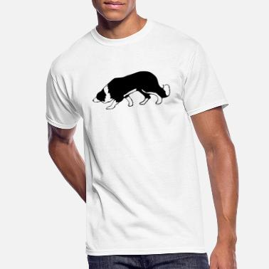 Border Collie border collie - Men's 50/50 T-Shirt