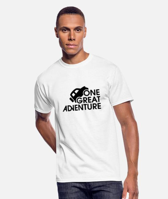 Hay T-Shirts - Adventure - One Great Adventure - Men's 50/50 T-Shirt white