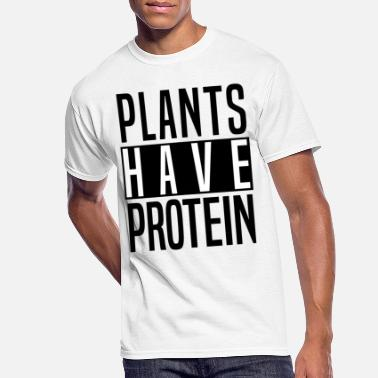 Protein plants have protein - Men's 50/50 T-Shirt