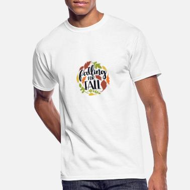 Fall Of The Wall Falling for fall - Men's 50/50 T-Shirt