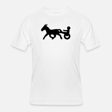 Harness Racing Horse Mens T Shirt