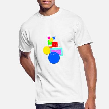 Multi Colored Multi colored - Men's 50/50 T-Shirt