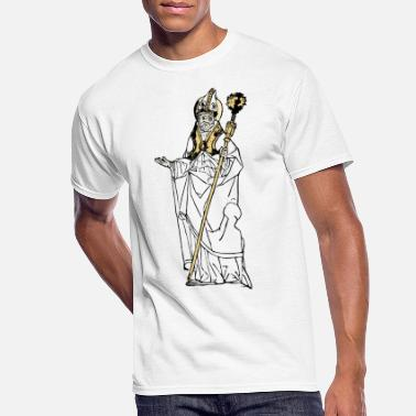 Pope Simple Old Pope - Men's 50/50 T-Shirt
