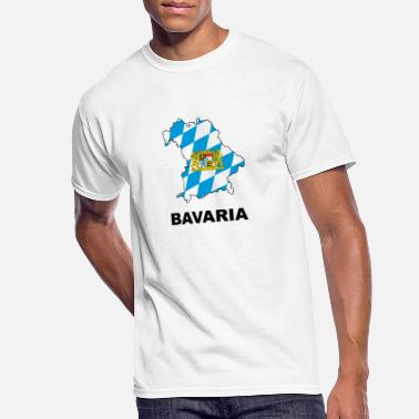 Bavaria Bavaria map - Men's 50/50 T-Shirt