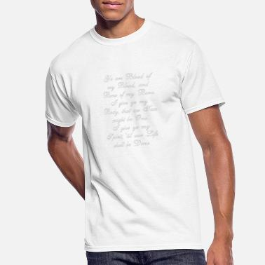 Wedding Vows Outlander Wedding Vows - Men's 50/50 T-Shirt