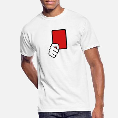 Red Card Red card Referee - Men's 50/50 T-Shirt