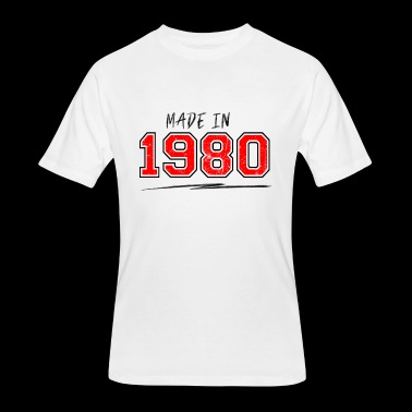 Made in 1980 - Men's 50/50 T-Shirt