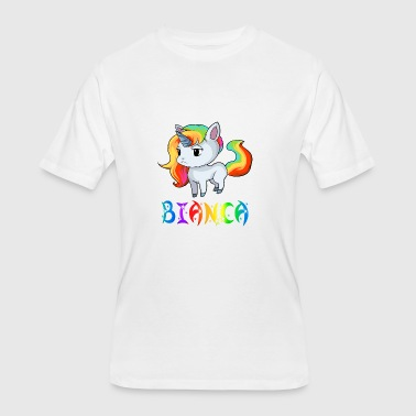 Bianca Unicorn - Men's 50/50 T-Shirt