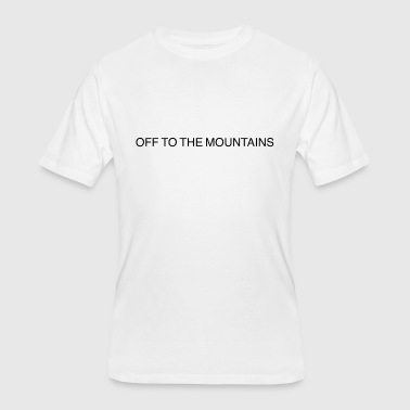 Off to the Mountains tee - Men's 50/50 T-Shirt