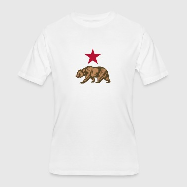 california State logo merchandise - Men's 50/50 T-Shirt