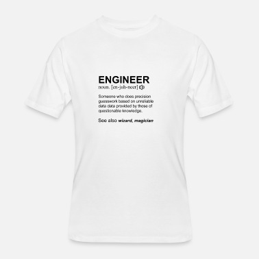 mechanical engineering Definition Men's 5050 T Shirt black