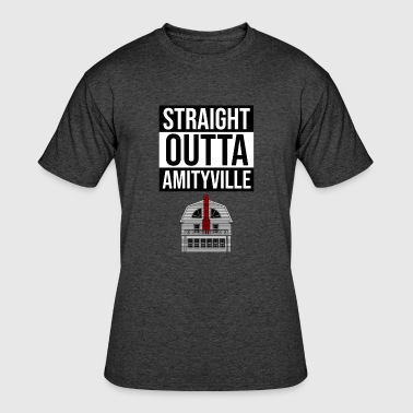 Straight Outta Amityville - Men's 50/50 T-Shirt