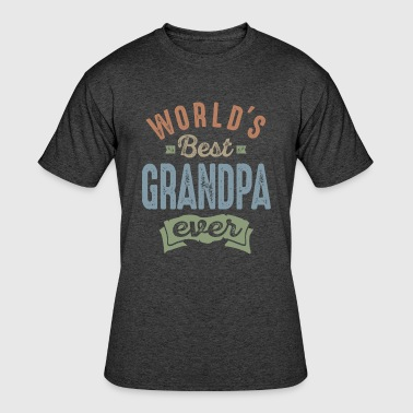 World's Best Grandpa - Men's 50/50 T-Shirt