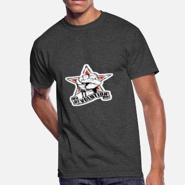 Revolution Geek Star revolution - Men's 50/50 T-Shirt